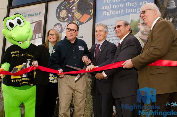 LI Cares, Inc. - Harry Chapin Food Bank Ribbon Cutting