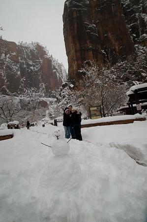 2008-12-21 Zion National Park Winter, Utah