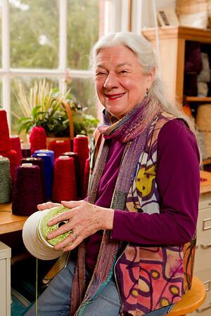 Barbara, Fiber Artist