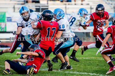 Football Soph SHS vs SalemHills 10-9-2014