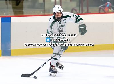 12/8/2019 - Boys Varsity Hockey - New Hampton vs Gunnery