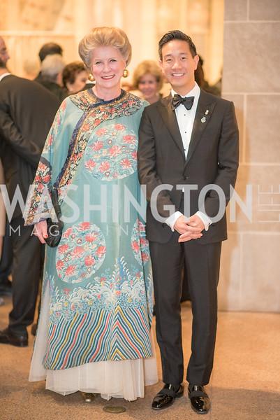 Elbrun Kimmelman, Tai-Heng Cheng, Freer Sackler, Gallery of Art, Empresses of China, March 27, 2019. Photo by Ben Droz.