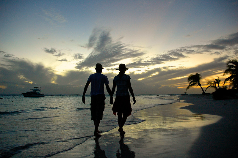 Sunset stroll in Barbados, Caribbean. Barbados photographed by Barbados Photography www.barbados-photography.com