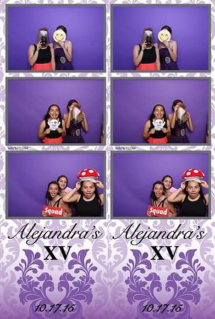 Alejandra's XV | Oct. 17th 2015