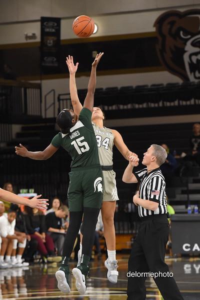 Oakland Women's Basketball vs MSU 12-05-2018