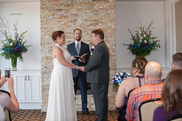 Crystal and Chris's wedding