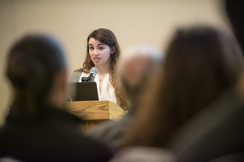 Honors Presentations, December 2018