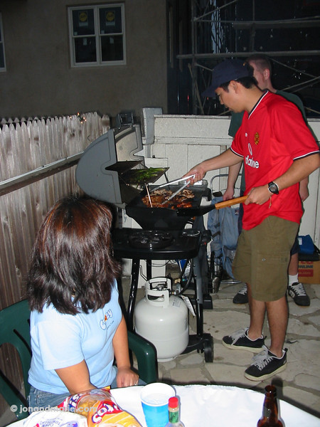 9/14 - BBQ at Greck's