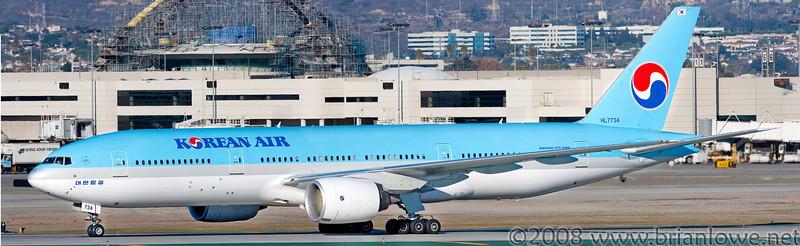 Dec 2008 LAX aircraft photos