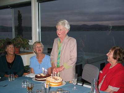 Mum's Birthday Party @ Bob & Gill's, 30.11.2007