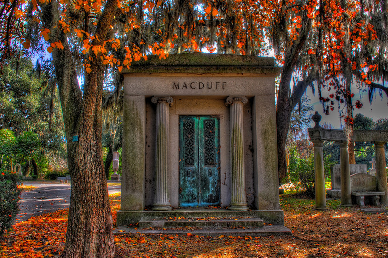 HDR photography of Evergreen Cemetery, Jacksonville, FL by John Shippee