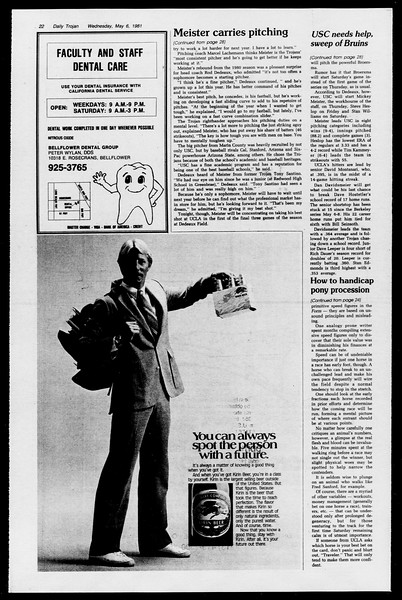 Daily Trojan, Vol. 90, No. 57, May 07, 1981