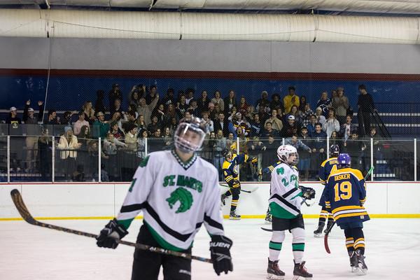 Ice Hockey: JBS vs St. Mary's