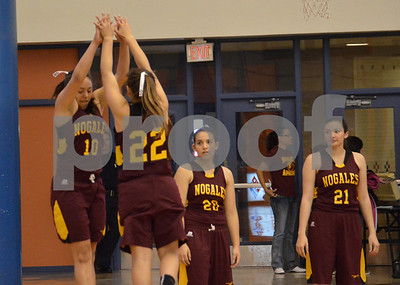 2014 Girls basketball Cienega Nogales