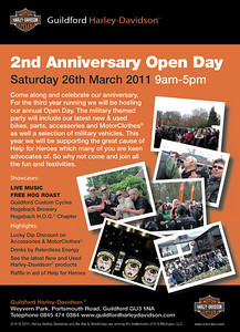 GHD 2nd Anniversary Open Day, 26 Mar 2011