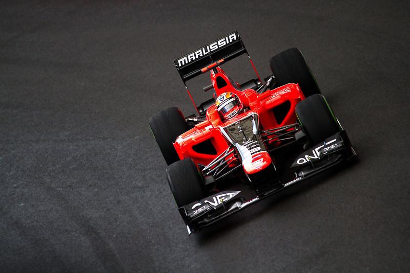 Timo Glock (Germany) - GP Monaco Formula 1, 2012