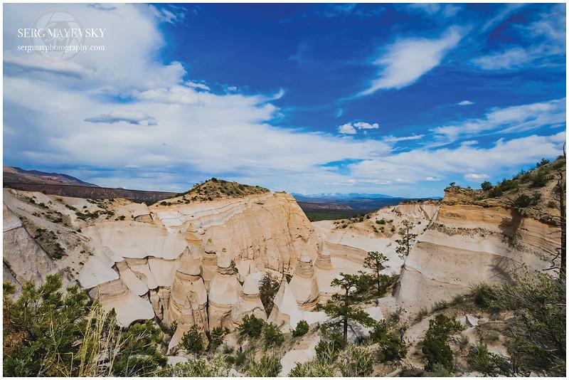 Kasha-Katuwe Tent Rocks - Sandoval County, New Mexico,