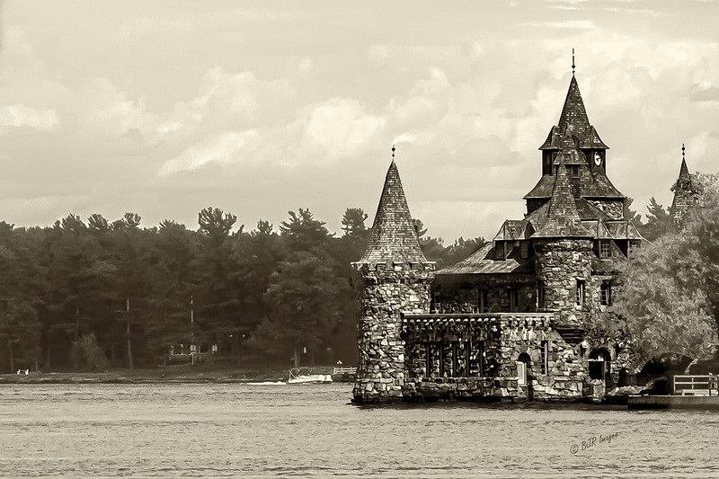Bolt Castle Boathouse