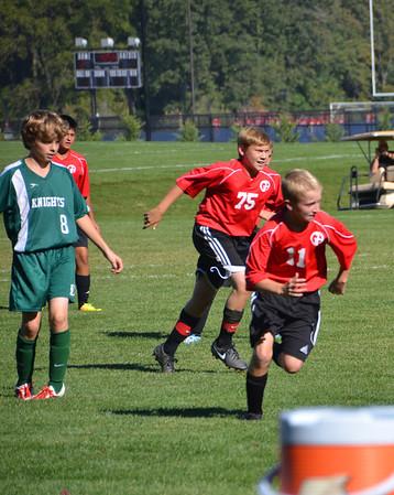 Boys MS JV Soccer