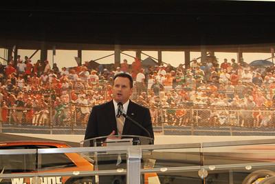 Annual Charlotte Chamber meeting @ NASCAR Hall of Fame Nov 27, 2012
