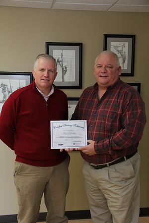 Larkin Staking Certificate