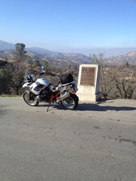 Afternoon Ride to the Tehachapi Loop (Rail Road) 1/25/12