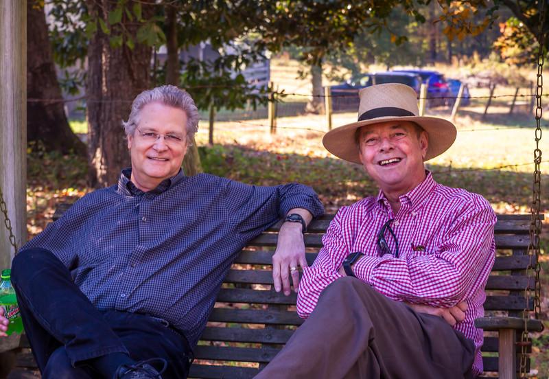 Al Simmons and Jay McDaniel Sr.