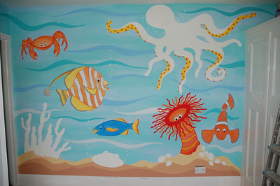 Underwater Mural (Private commission, Kent)