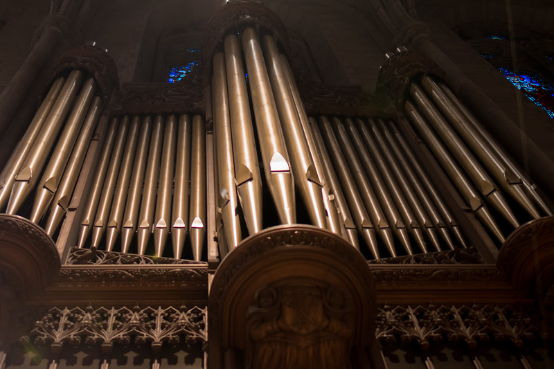 Organ at Grace Cathedral, San Francisco, CA