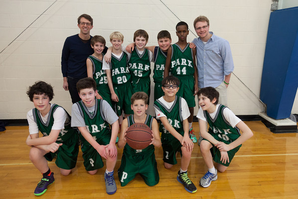 Park 6th gr. Basketball 2014
