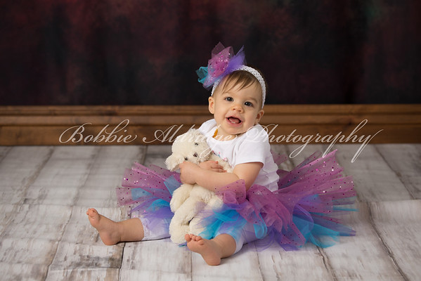 Ryleigh at one year
