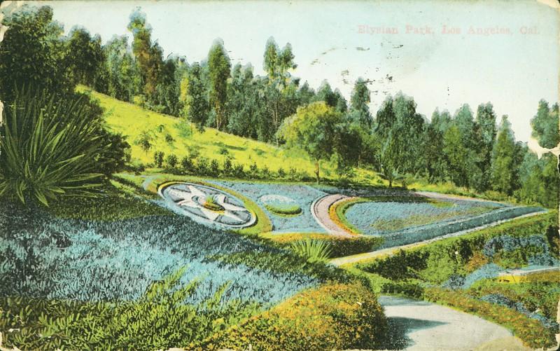 Elysian Park Flower Path