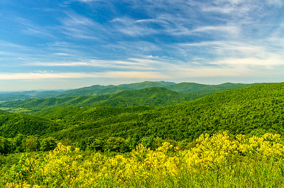 The Great Smoky & Blue Ridge Mountains