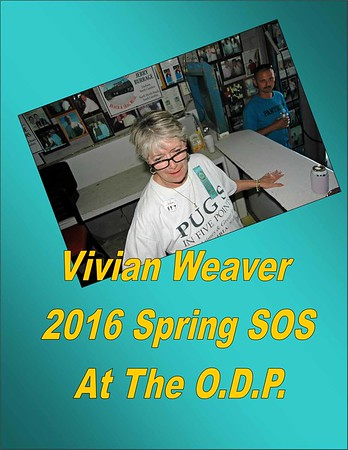 2016 Spring SOS - Vivan Weaver at the O.D.P.