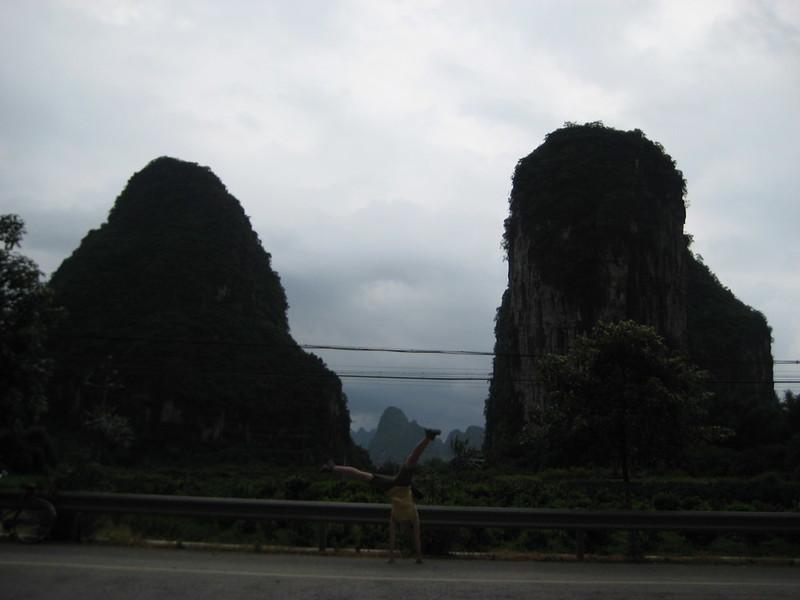 Kelly Ward - Guilin Mountains, China