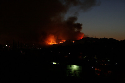 Griffith Park on Fire: May 8, 2007