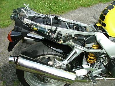 Honda Firestorm Scottoiler Install