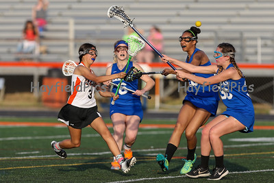 Girls JV Lacrosse vs South Lakes 4/26/16