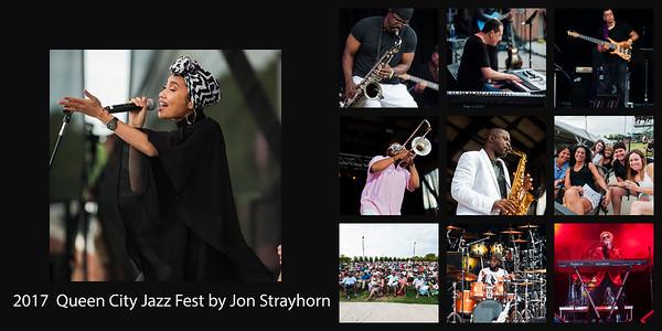 The Queen City Jazz Fest @ Charlotte Metro Credit Union Amphitheatre 6-17-17 by Jon Strayhorn