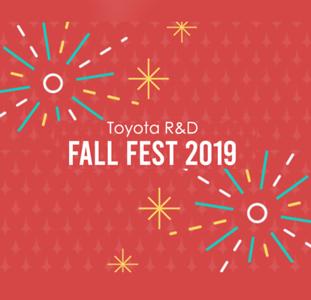 Toyota R&D Fall Fest 2019