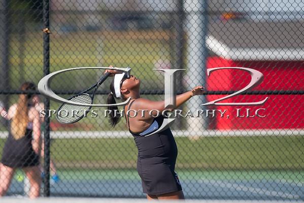 4-18-2016 Woodgrove at Heritage Girls Tennis