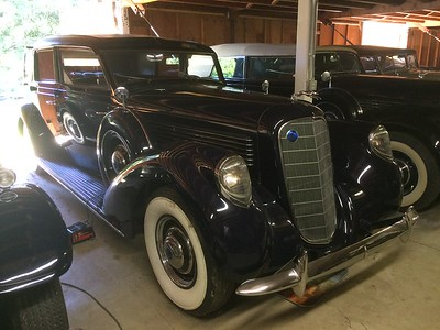 1938 Lincoln Simi Collapsible Brunn