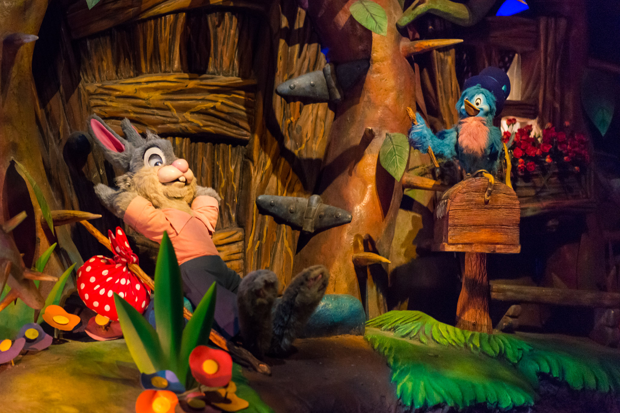 Brer Rabbit Relax - Walt Disney World Magic Kingdom