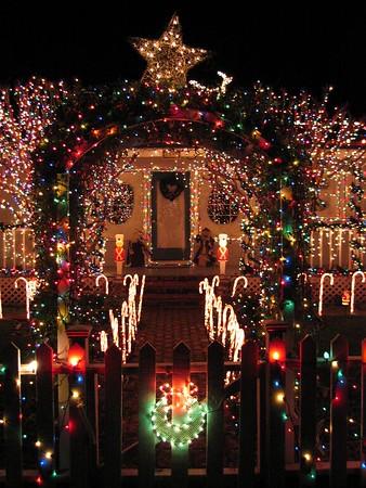 Christmas Lights, Marin County 2003