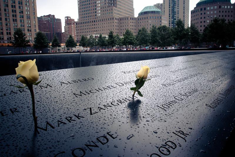 911 memorial mark yellow roses.jpg