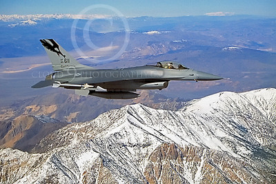 Flying California Air National Guard Lockheed Martin F-16 Fighting Falcon Airplane Pictures