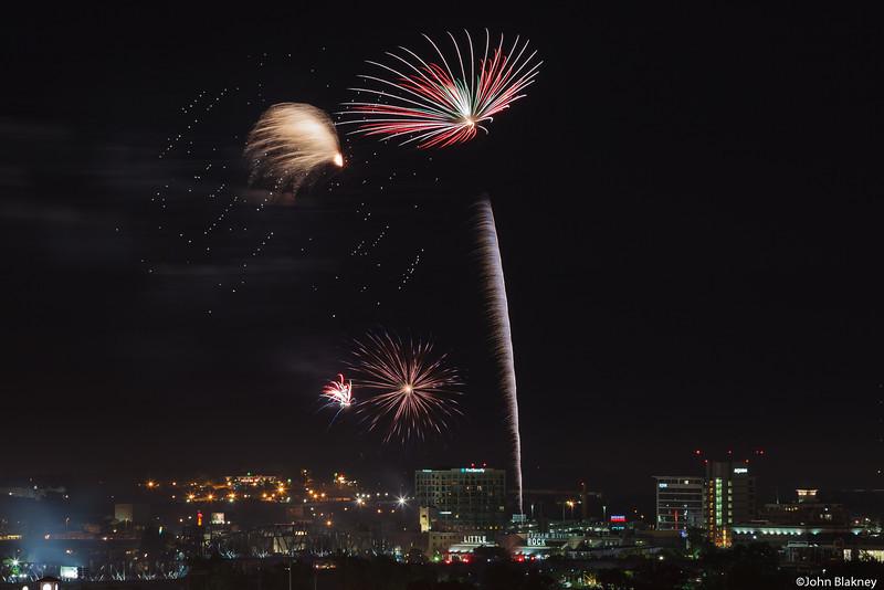 Riverfest Fireworks 2013
