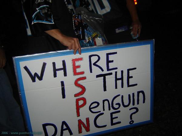Panthers vs. Bucs November 13th 2006