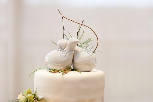 Cake Cutting - Ali and Chris