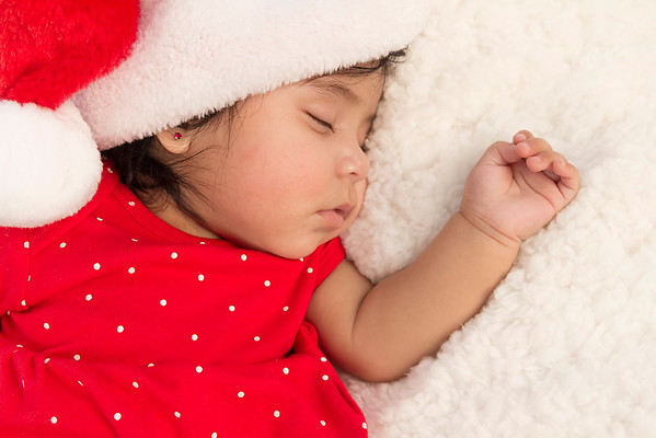 Baby Christmas Photos - Saraya